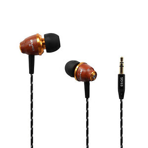 New Awei Excellent Wooden Super Bass in-ear Headphone Headset Mp3 Earphone Q5