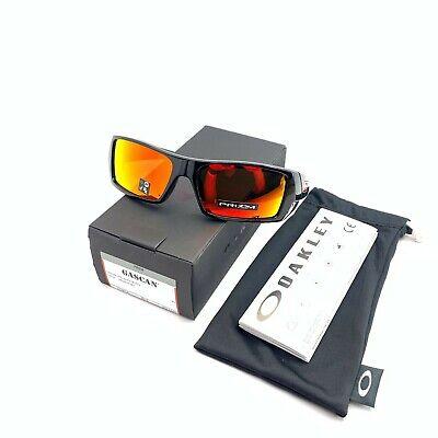 New Oakley OO9014-4460 Gascan Polished Black / Prizm Ruby Lenses (Oakley Sun Shades)