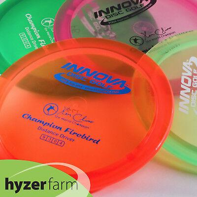 Innova CHAMPION FIREBIRD *pick color/weight* Hyzer Farm disc *PEARLS ARE FLAT!*