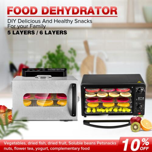 5 6 trays food dehydrator fruit meat