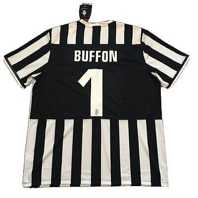 2013/14 Juventus Home Jersey #1 Buffon 2XL Nike Football Soccer BIANCONERI NEW image