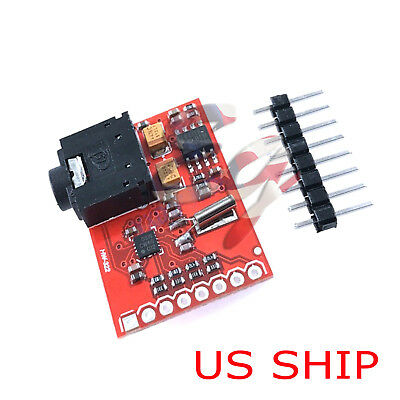 1pcs Breakout Board Si4703 Fm Rds Tuner For Avr Arm Pic Arduino Compatible