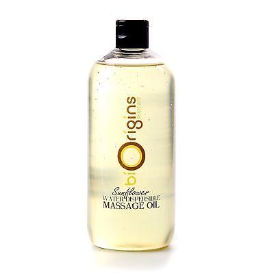 Girasol Agua Dispersible Aceite de Masaje - 500ml (WD500SUNF)