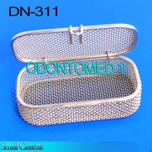 "Sterilization Cassette Tray 4.75"" x2.25"" x1"" Perforated Mesh Box DN-311"