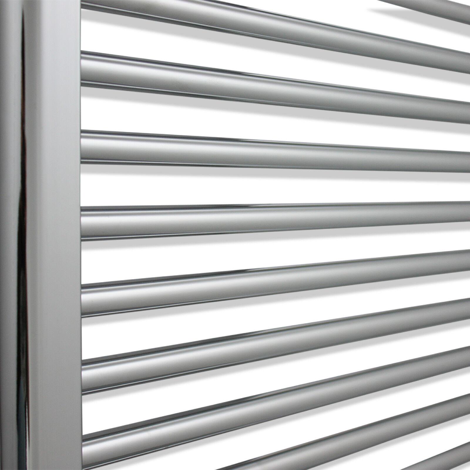 Do Heated Towel Rails Heat The Bathroom - 20 cm width 80 cm height flat chrome heated towel rail radiator bathroom warmer with electric or central heating options