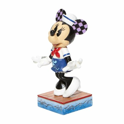 Jim Shore Disney Sassy Sailor MINNIE SAILOR Personality Pose Figurine 6008080