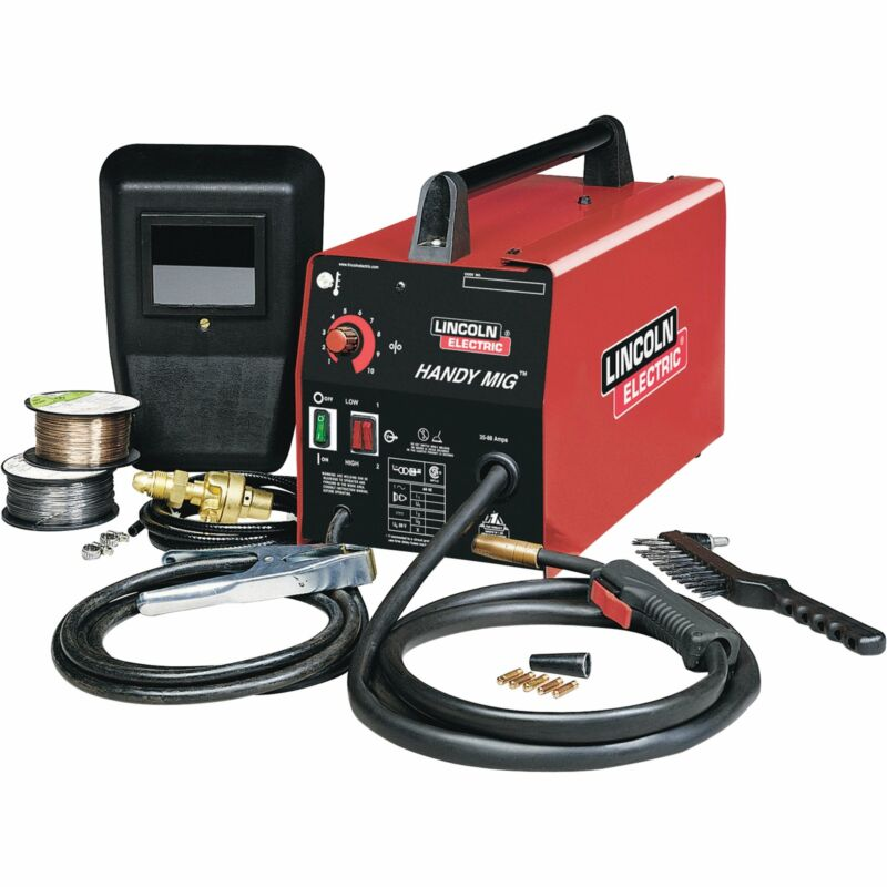 Lincoln Electric Handy Mig Portable Welder -MIG & Flux-Cored #K2185-1