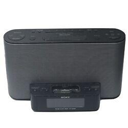 Sony Dream Machine ICF-CS10iP Alarm Clock AM/FM Stereo Radio w/ iPod iPhone Doc