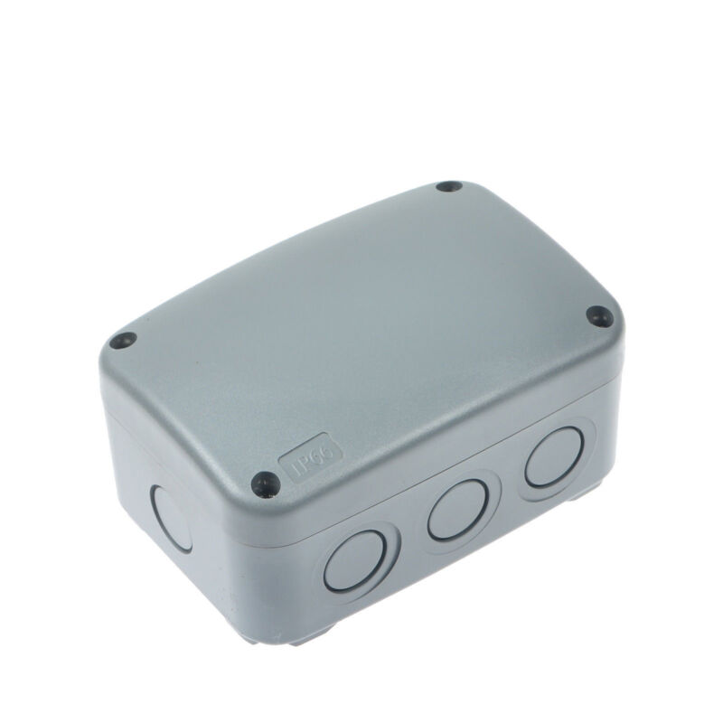 Waterproof Junction Box Cable Switch Connector Enclosure Case IP66 Rated 9-Pole
