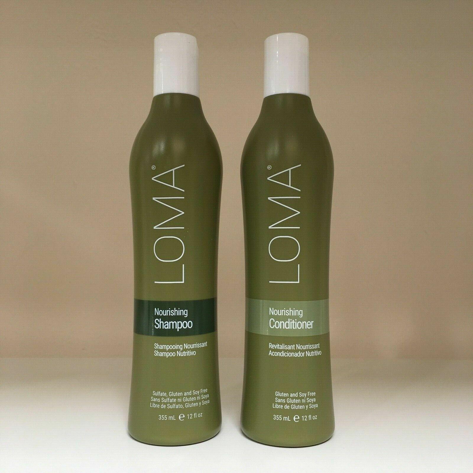 Loma Nourishing Shampoo & Conditioner Duo - 12 oz each *** N