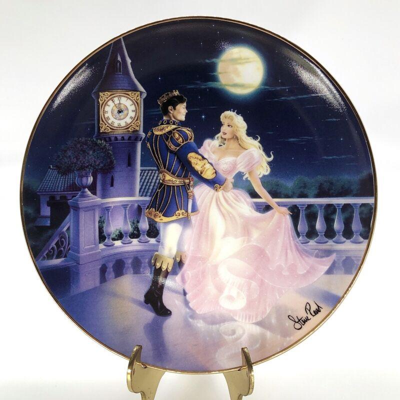 "Magic 'til Midnight by Steve Read ""Cinderella"" Porcelain Plate 8"" Franklin Mint"