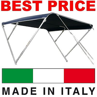 Tendalino parasole 3 archi BEST PRICE per barca, gommone_MADE IN ITALY