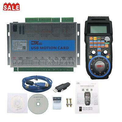 4-axis Usb Mach3 Motion Controller Card Breakout Board Mk4-vhandwheel Pendant