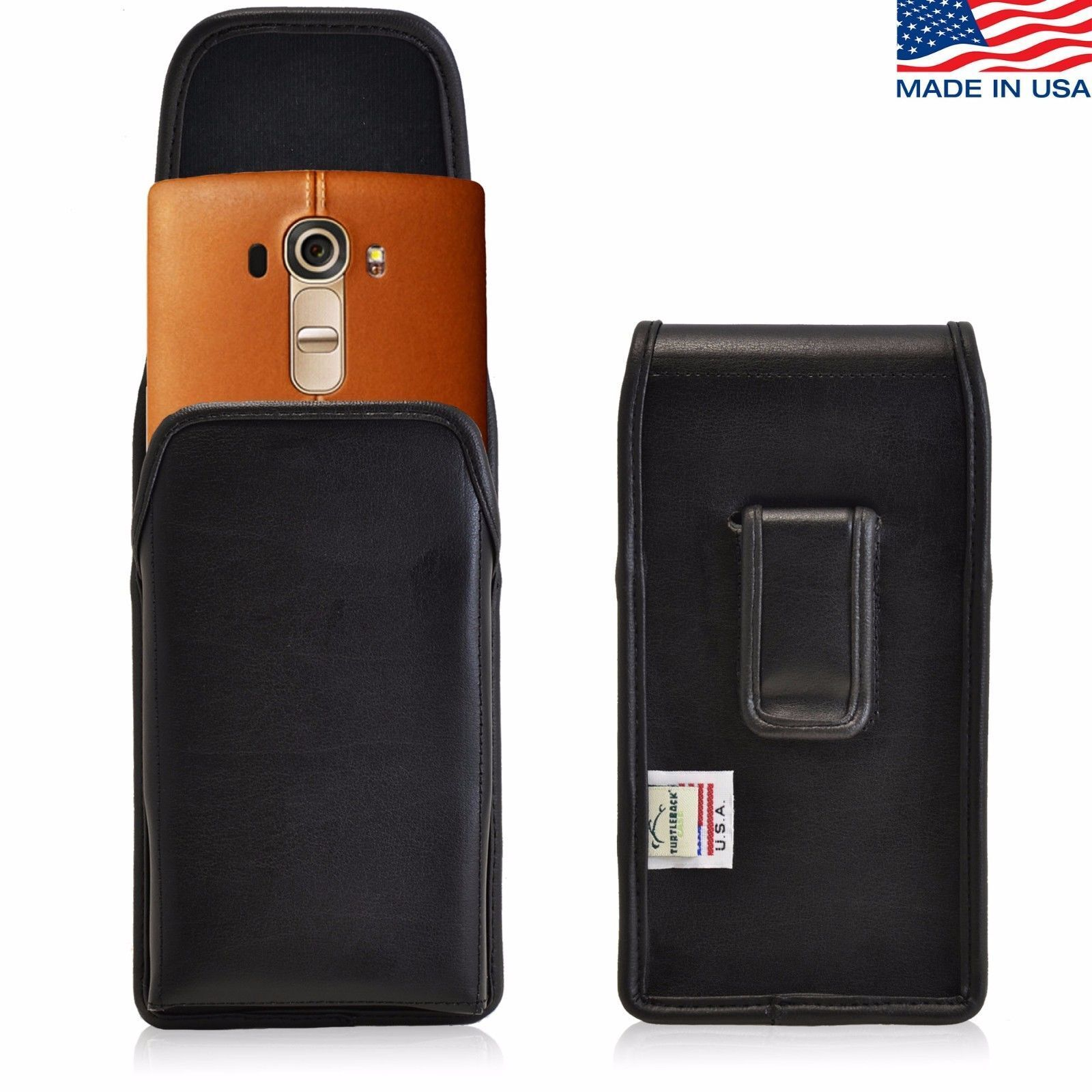 turtleback-vertical-leather-holster-pouch-black-belt-clip-phone-case-for-lg-g4