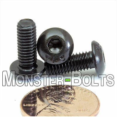10-32 - Button Head Socket Cap Screws Alloy Steel Thermal Black Oxide Fine Sae
