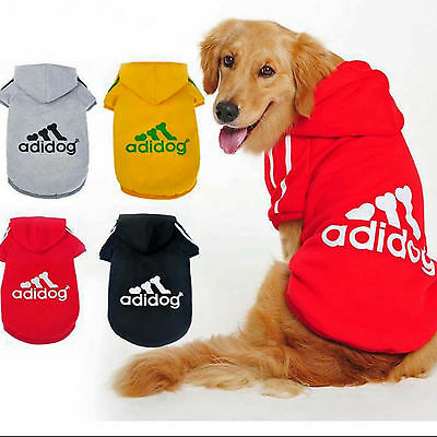 Small Cute Pet Dog Cat Clothes Puppy Warm Sweater Hoodie Coat Costume Apparel US](Cute Dog Costume)
