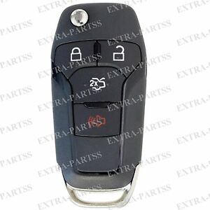 NEW 2013-14 FORD FUSION OEM FACTORY KEYLESS ENTRY FLIP KEY FOB REMOTE N5F-A08TAA