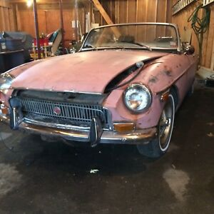 1970 MG MGB CONVERTIBLE WITH OVERDRIVE-Project
