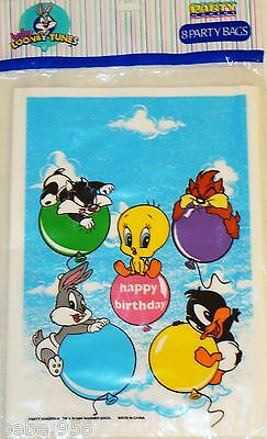 Looney Tunes Party Supplies ( ~BABY LOONEY TUNES ~8- HAPPY  B-DAY  LOOT)