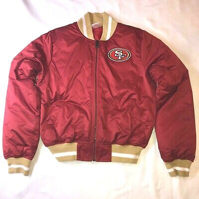 New Vintage Style NFL San Francisco 49ers Jacket Youth Size Small