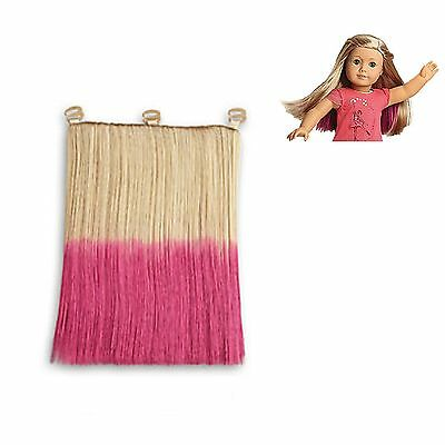 """American Girl LE ISABELLE DOLL HIGHLIGHTS for 18"""" Dolls Wig Hair Extension NEW"""