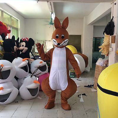 Hot Sale Kangaroo Mascot Costume Party game Fancy Dress Australia Adults size](Costume Sales Australia)