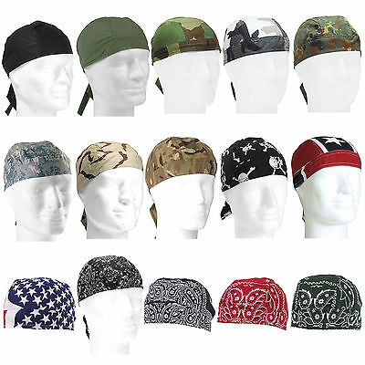 Headwrap viele Farben, Army Biker Kopftuch Bandana tarn camo Rocker Tuch Mütze