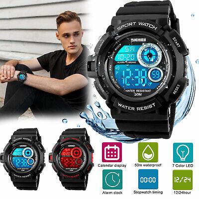 Waterproof Sport Smart Watch Blood Pressure Heart Rate Monitor Health Tracker HD