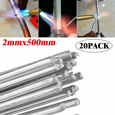 Easy Melt Welding Rods Low Temperature Aluminum Wire Brazing 20pcs - 2*500mm New