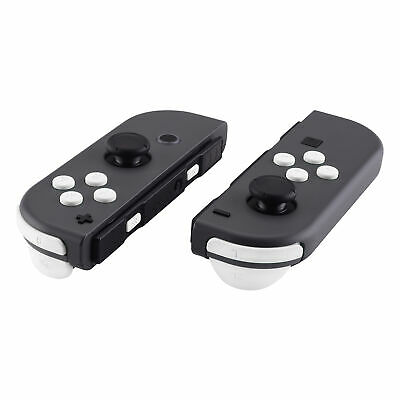 - Soft Touch White Full Set Buttons W/ Tools Fix Parts For Nintendo Switch Joy-Con