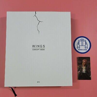 BTS Wings Concept Book J HOPE Hoseok Lenticular Card 2Photo Frame Paper rare
