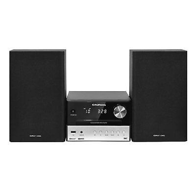 Grundig CMS 3000 BT DAB+ Kompaktanlage Bluetooth CD/MP3 USB FM Radio 30W RMS
