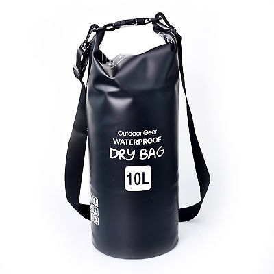10L Dry Bag Waterproof Outdoor Swimming Rafting Kayaking Sailing Canoe Backpack