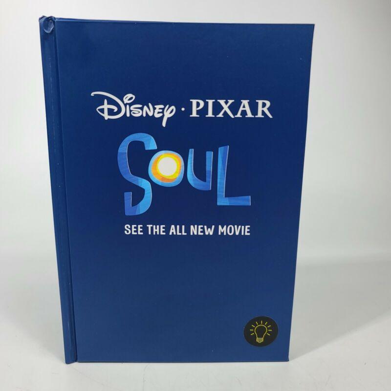 New 2020 Disney Pixar Soul Light Up Magic Lined Blue Notebook Diary Rare HTF