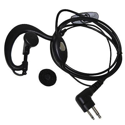 Handsfree Headset Ptt Microphone For Motorola Ecp-100 Ep450 Dtr410 Dtr550