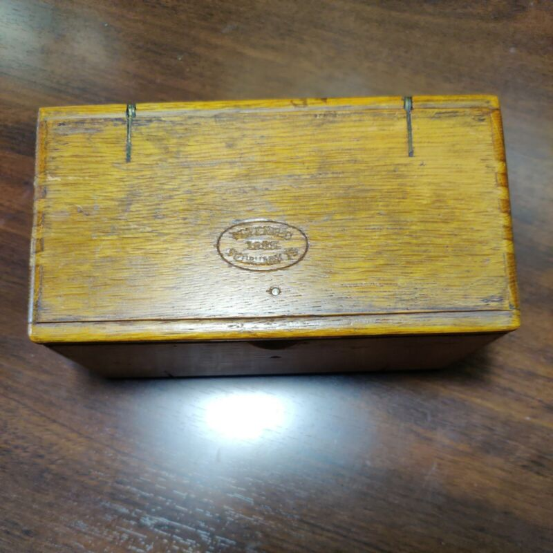 Antique Singer Sewing Machine Puzzle Box - 17 Attachments, Pat. 1889
