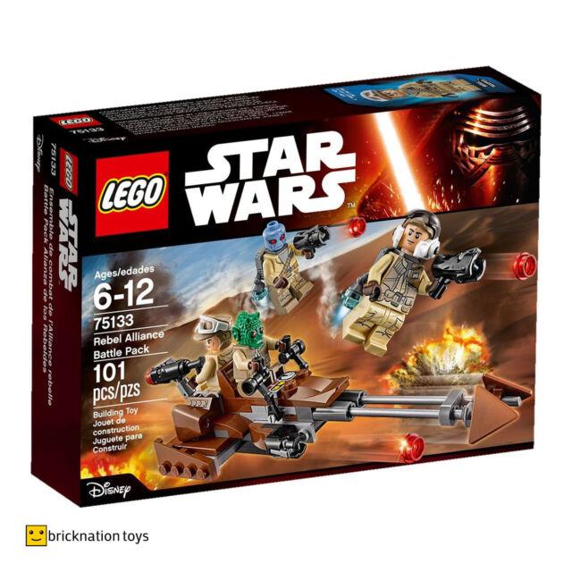 LEGO 75133 STAR WARS Rebel Alliance Battle Pack NEW SEALED