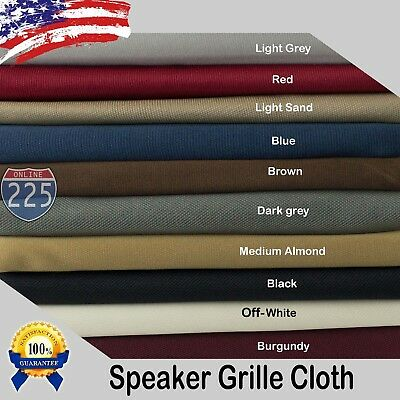 - All Colors Stereo Speaker Grill Cloth Fabric 36