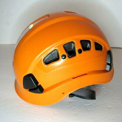 Defender Safety H1-ch05 Safety Helmet Hard Hat Orange Reflective Construction