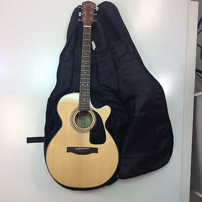 Fender GC-140SCE Grand Concert Acoustic-Electric Cutaway Guitar - Natural *