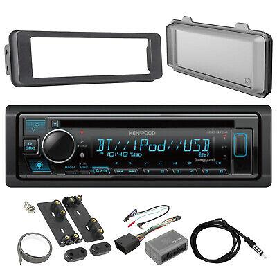 Kenwood Bluetooth Receiver, Dash Kit, Handlebar Controls, Radio Shield, Antenna