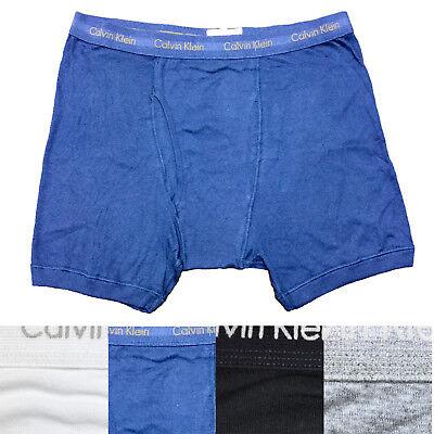Calvin Klein CK Men's Big and Tall Boxer Brief Underwear - Big And Tall Boxer Briefs
