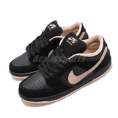 Nike SB Dunk Low Pro Black Washed Coral Men Skate Boarding Shoes BQ6817-003 Dunk Low Skate Shoes