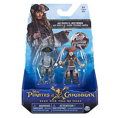 Pirates of the Caribbean Dead Men Tell No Tales Jack Sparrow vs Ghost Crewman