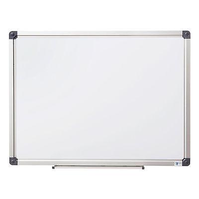 Whiteboard Magnettafel Wandtafel in 90x120cm lackiert Schreibtafel Magnetboard