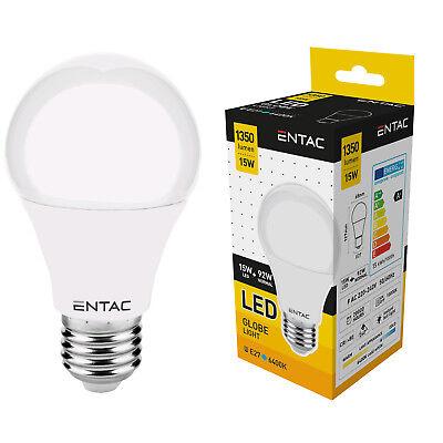 Standard 27 (LED Glühbirne E27 kaltweiß 15W 1350Lm 6400K Globe A+ Glühlampe Beleuchtung)
