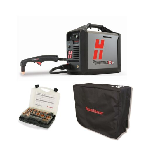 Hypertherm Powermax45 XP Plasma Cutter with 20ft Hand Torch BUNDLE (088112)