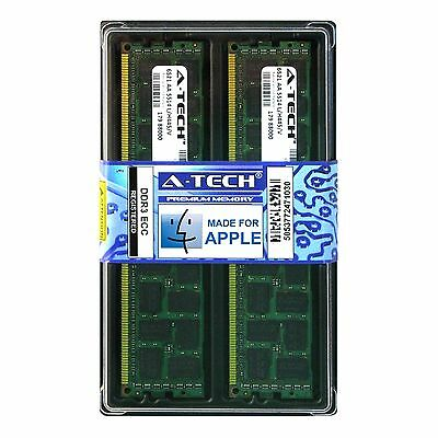 8GB KIT 2X 4GB PC3-10600 1333 MHZ ECC REGISTERED APPLE Mac Pro MEMORY RAM