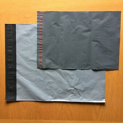 25 pack Mixed Size Grey Poly/Plastic Mailing/Postal/Postage Bags