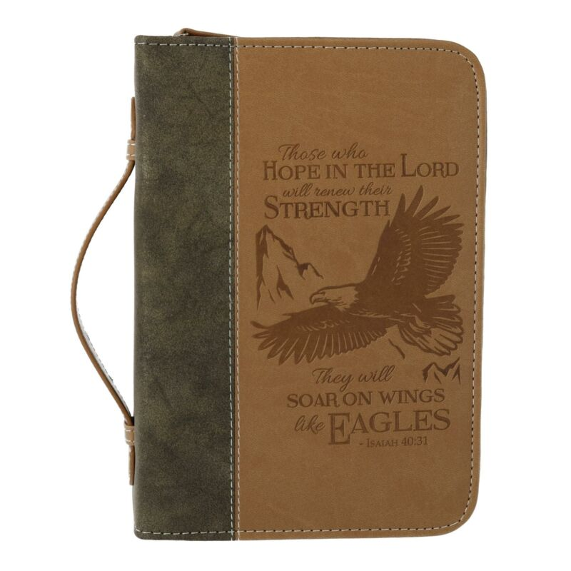 New Divinity Boutique Soar on Wings of Eagles Bible Cover Case